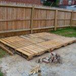 Pallet Deck Day Installing Pallets Made