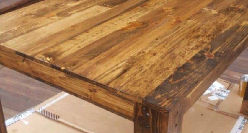 Pallet Dining Table First Diy Project Pallets