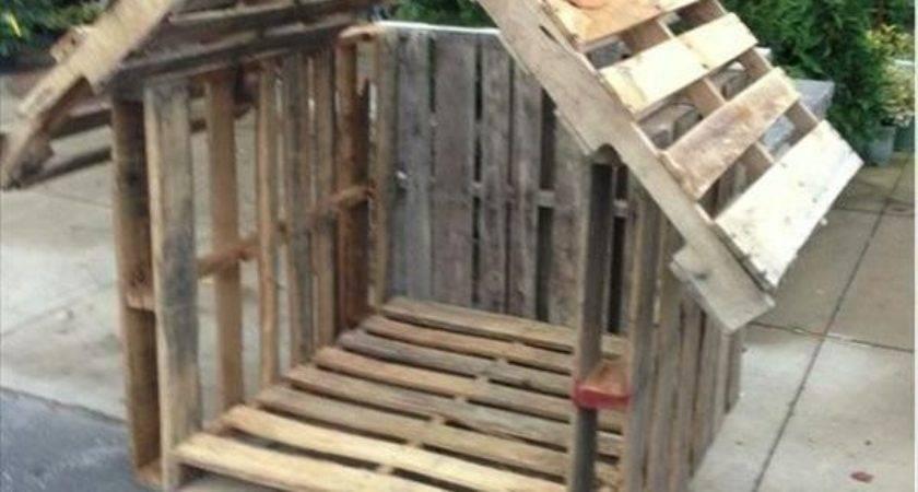 Pallet Dog House Plans Unique Stylish Houses