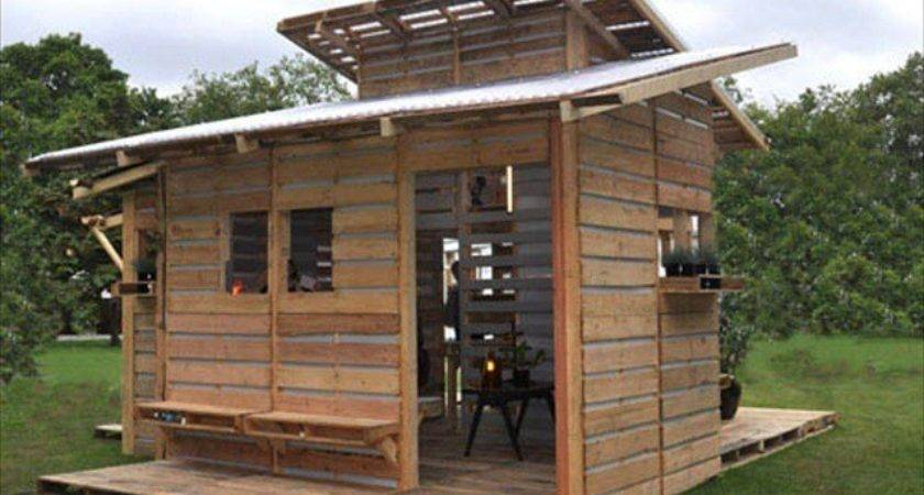 Pallet Emergency Home Can Built One