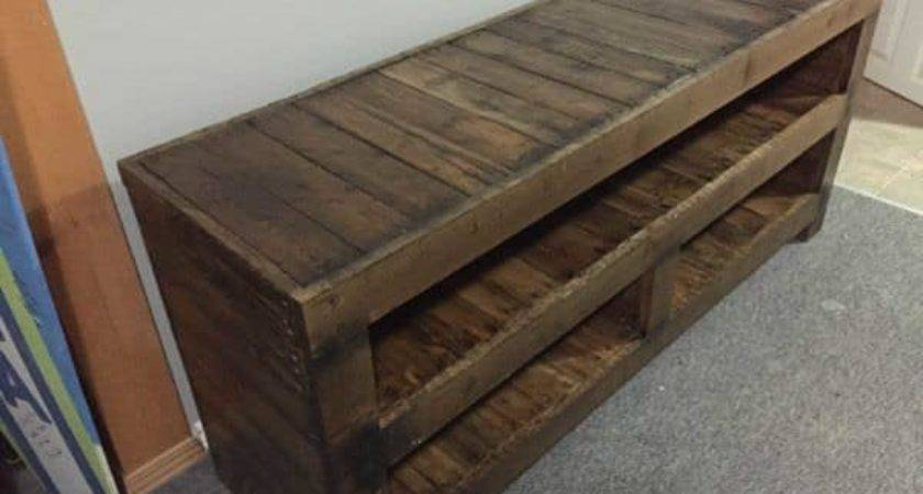 Pallet Entertainment Unit Pallets