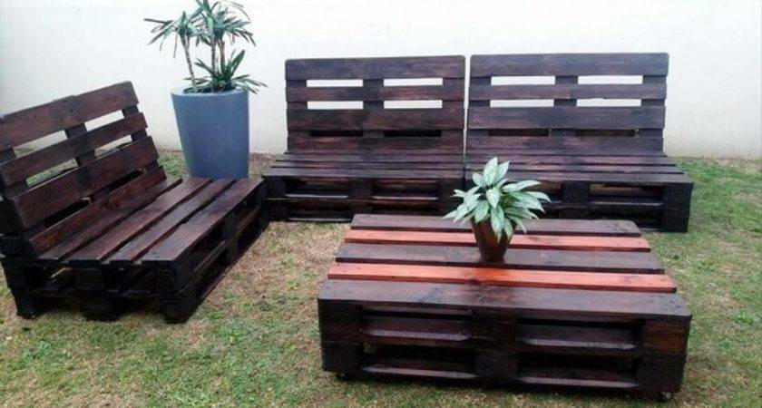 Pallet Furniture Ideas Diy Recycled Wooden