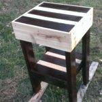 Pallet Furniture Make End Table Pallets Diy
