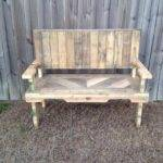 Pallet Garden Bench Ideas Photograph Pallets Made Chair