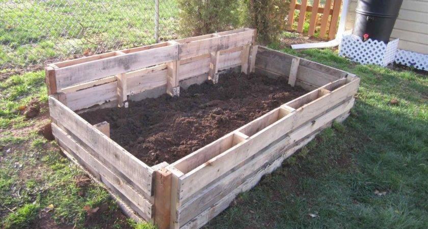 Pallet Garden Box Bierwerx