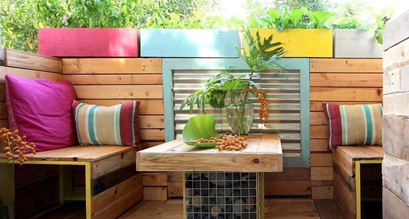 Pallet Garden Furniture Ideas