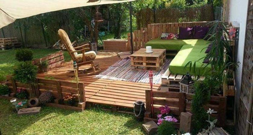 Pallet Garden Ideas Upcycle Art
