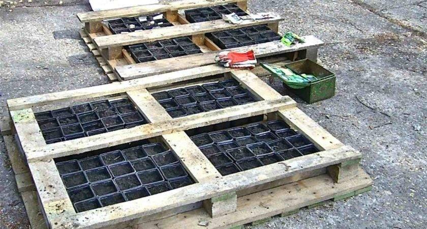 Pallet Garden Instructions Make Raised Bed