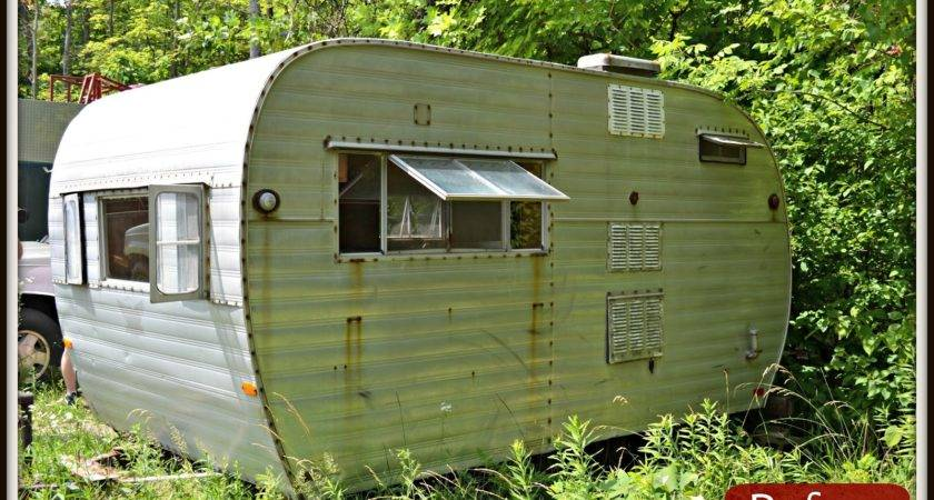 Pallet Home Tin Can Camper Hunting