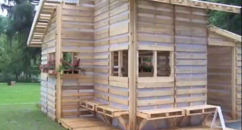 Pallet House Sqft Tiny Living Perfection
