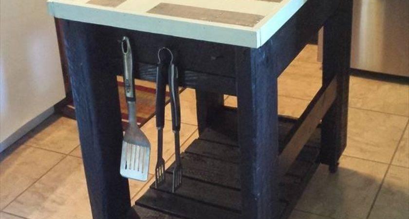 Pallet Kitchen Furniture Idea