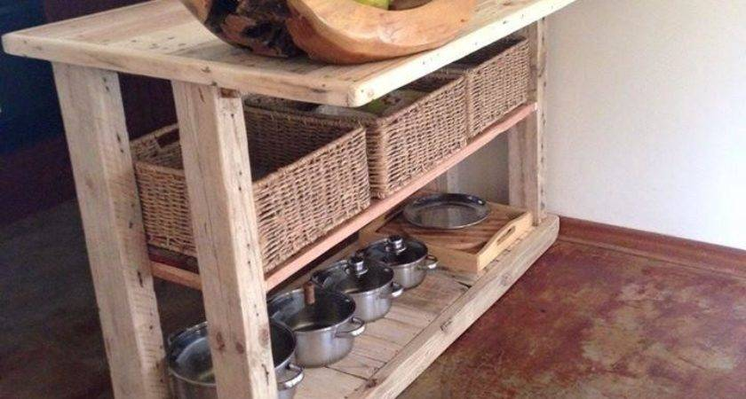 Pallet Kitchen Island Furniture