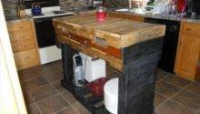 Pallet Kitchen Island Pallets Designs