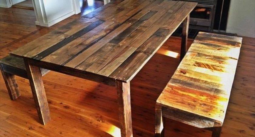 Pallet Kitchen Table Rapflava