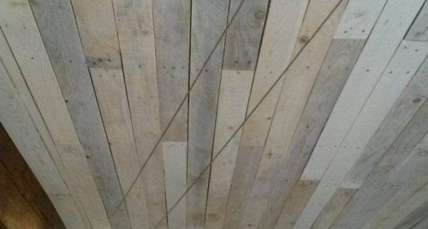Pallet Made Roof Ceiling Ideas Recycled