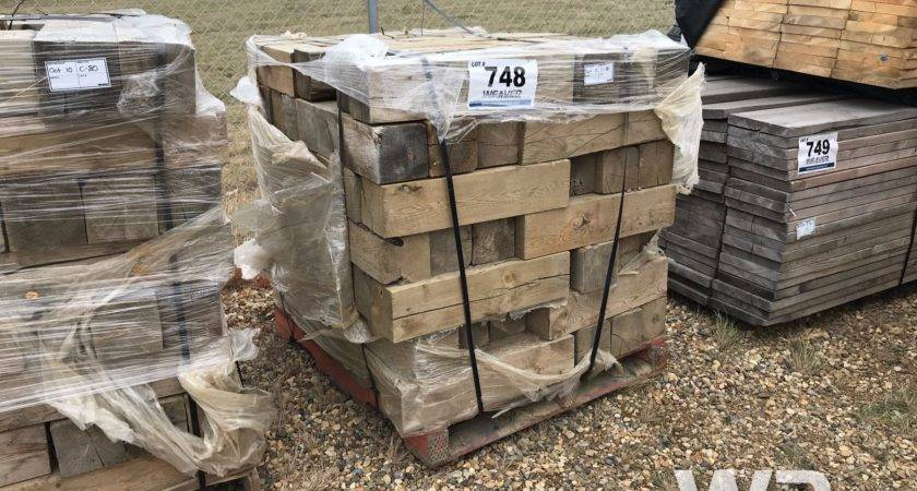 Pallet Mobile Home Blocks Weaver Bros Auctions Ltd