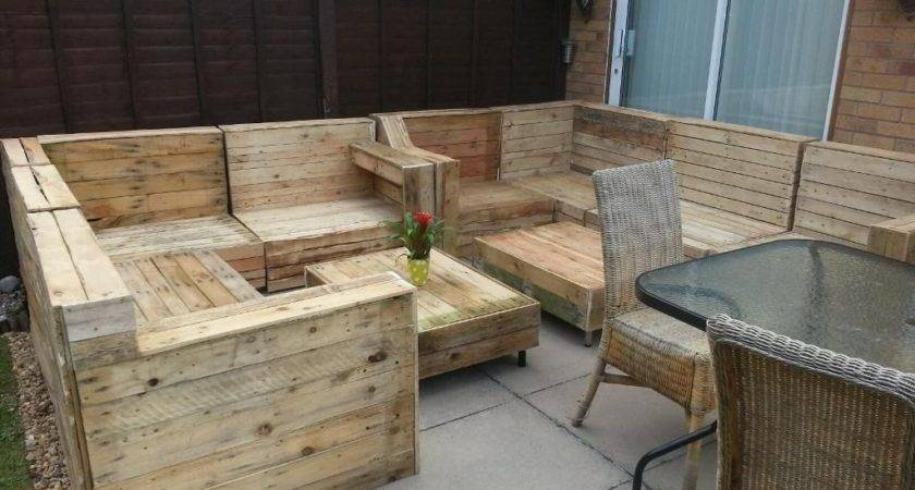 Pallet Outdoor Furniture Plans Made