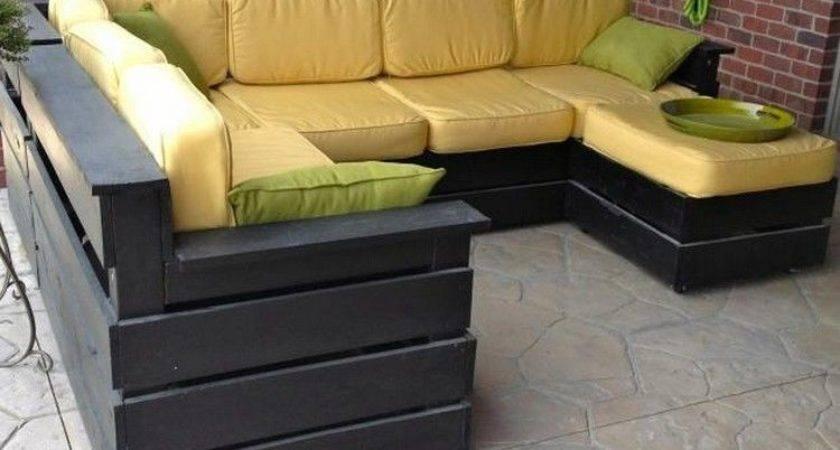 Pallet Outdoor Furniture Plans Pinteres