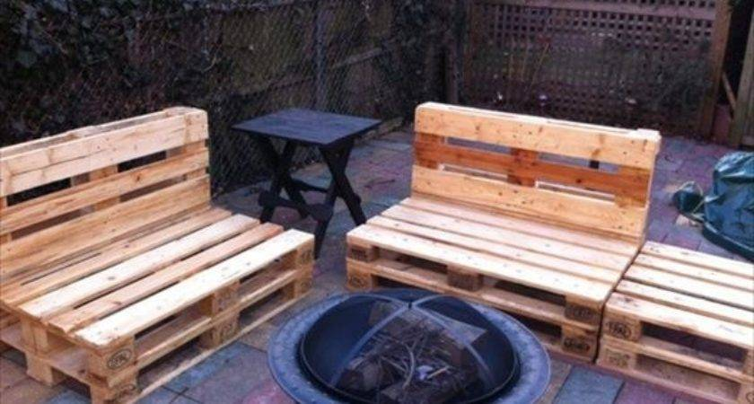 Pallet Outdoor Seating Ideas Pallets Designs