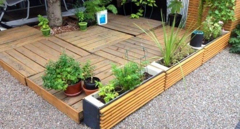 Pallet Patio Deck Wood Pro
