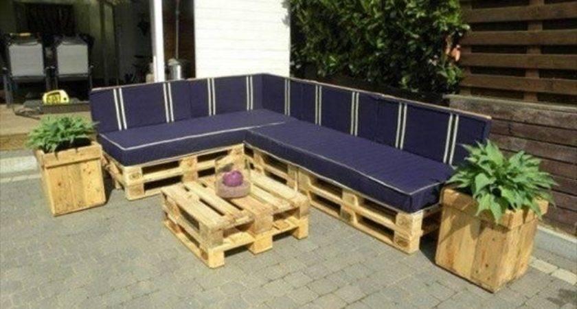 Pallet Patio Furniture Pallets Designs