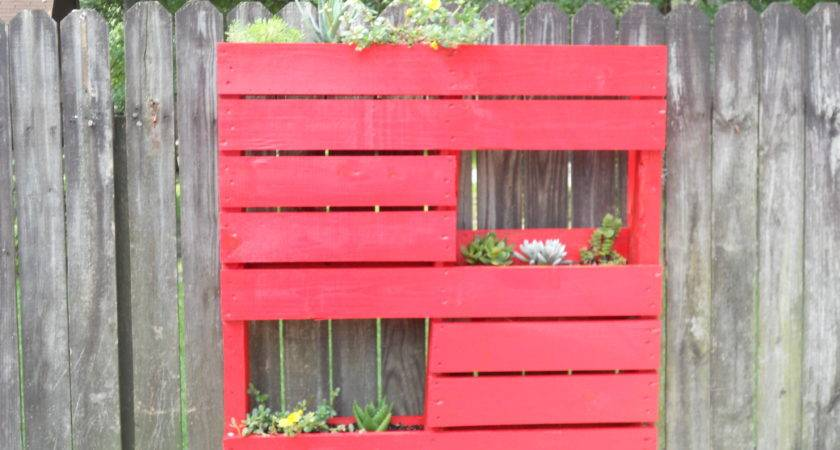 Pallet Project Make Hanging Planters