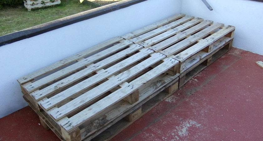 Pallet Project Patio Day Bed Lovely Greens Garden