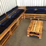 Pallet Sectional Sofa Storage Furniture