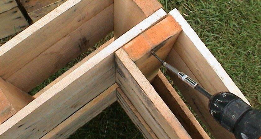 Pallet Shed Plans Build Diy