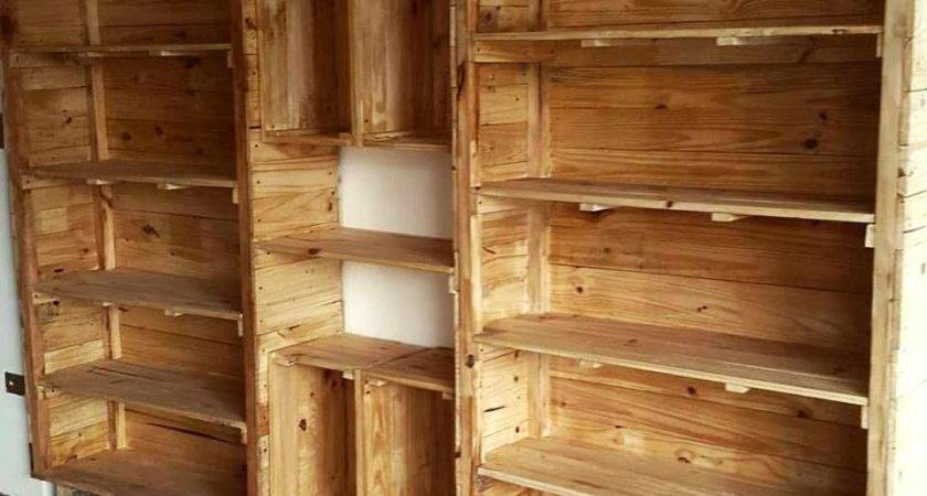 Pallet Shelves Bigger Storage Easy Projects Can