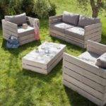 Pallet Sofa Inexpensive Seating Arrangement Ideas