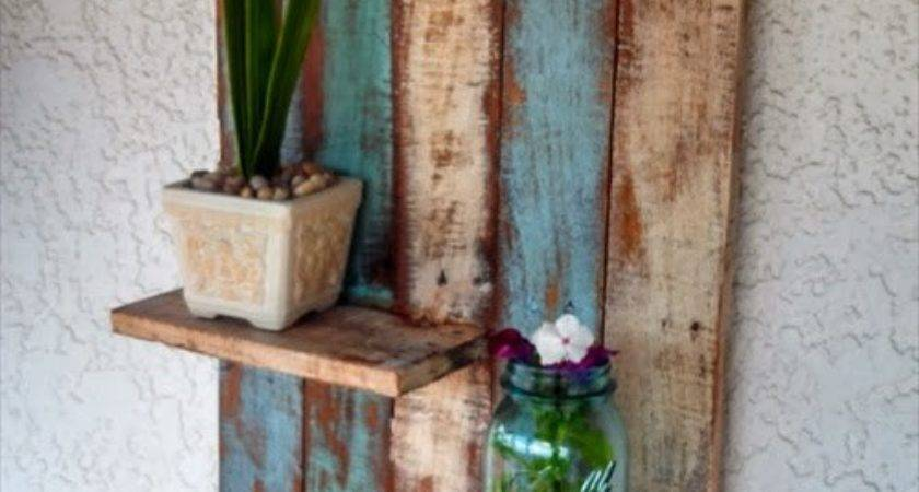 Pallet Storage Shelf Furniture Ideas