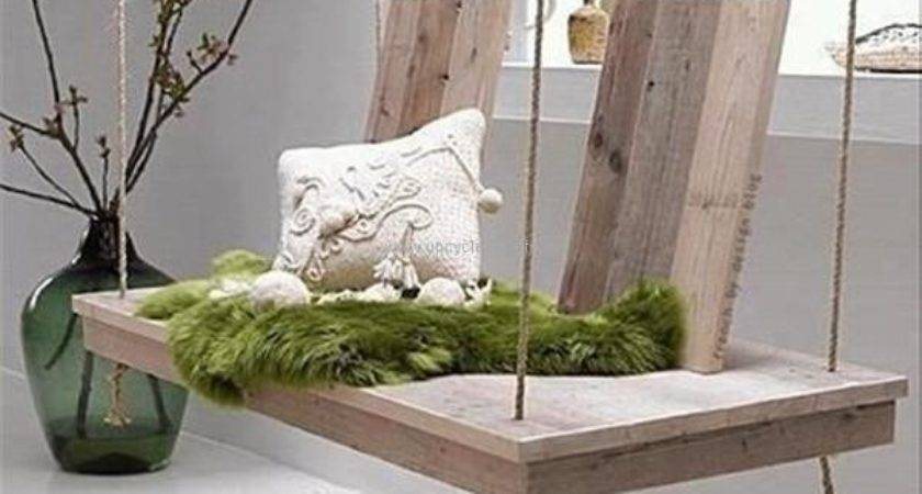Pallet Swing Bed Ideas Upcycle Art