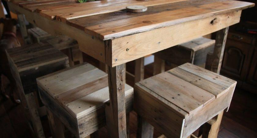 Pallet Table Crafty Trev