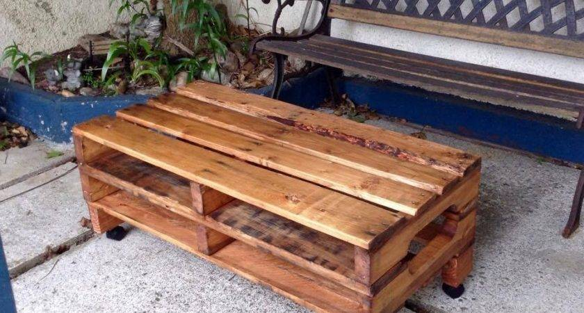 Pallet Table Ideas Inspire Diy