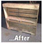 Pallet Table Reclaimed Cycled