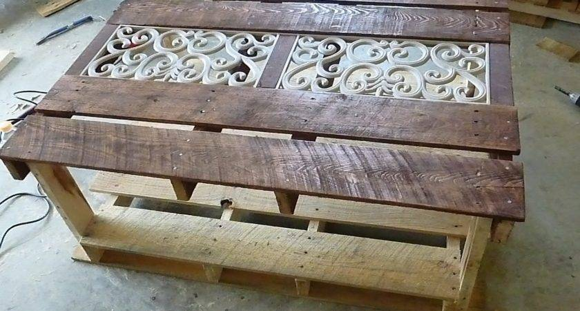Pallet Tables Interior Home Design Decorating
