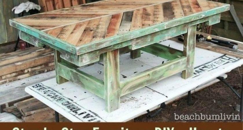 Pallet Tables Pinterest Step Furniture Diy