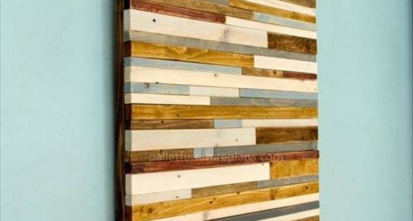 Pallet Wall Art Ideas Pallets Designs