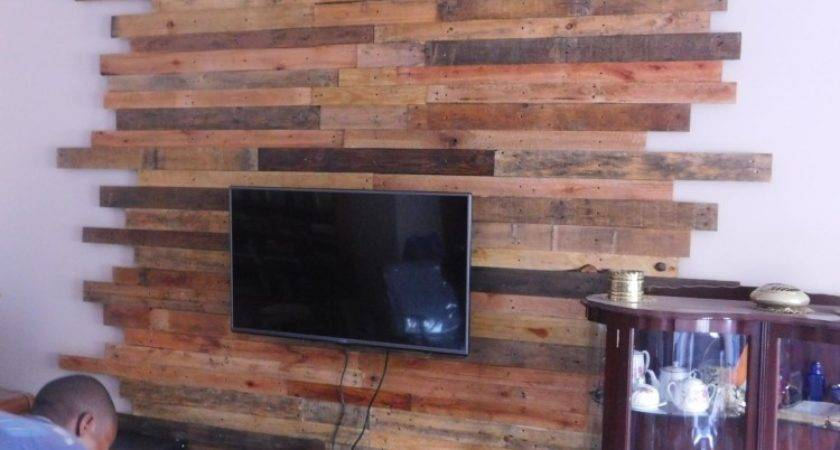 Pallet Wall Cladding Lcd Ideas Recycled