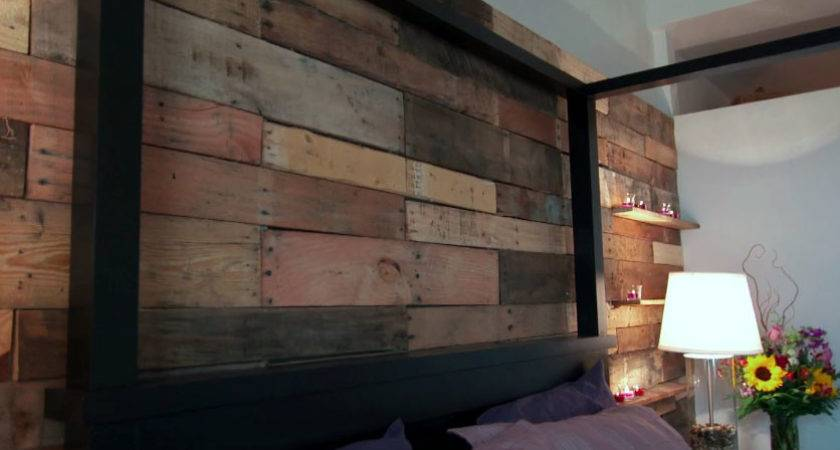 Pallet Wall Hgtv Saving Alaska Knock Off Wood