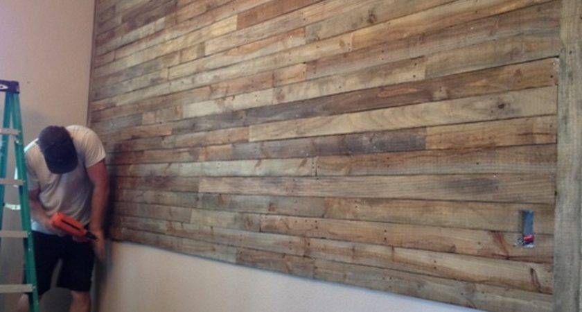 Pallet Wall Project Owner Builder Network