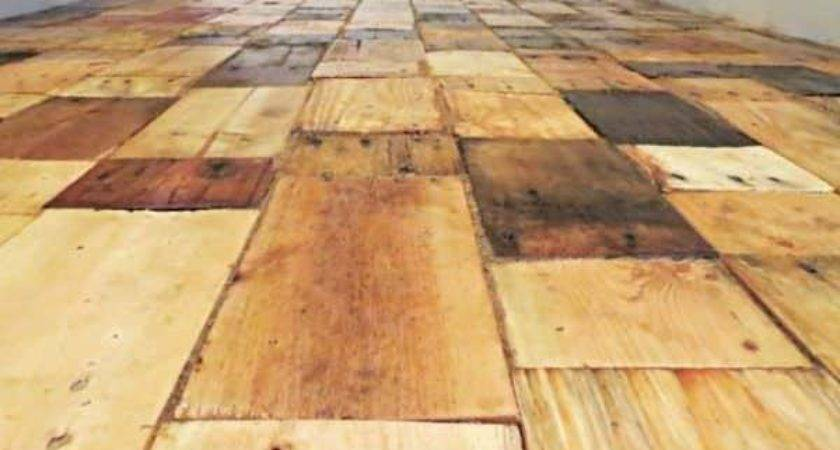 Pallet Wood Floor Redo Pallets