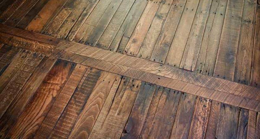 Pallet Wood Flooring Home Design Garden Architecture