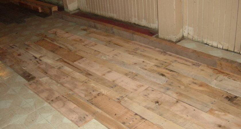 Pallet Wood Flooring Houses Ideas Blogule