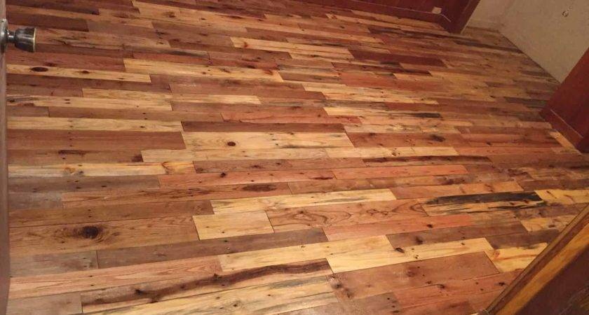 Pallet Wood Floors Two Ways Pallets