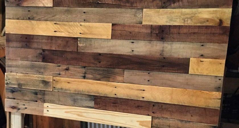 Pallet Wood Headboard Diy Revival Woodworks