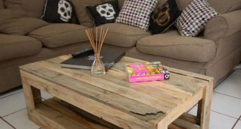 Pallet Wood Made Tables Furniture Projects