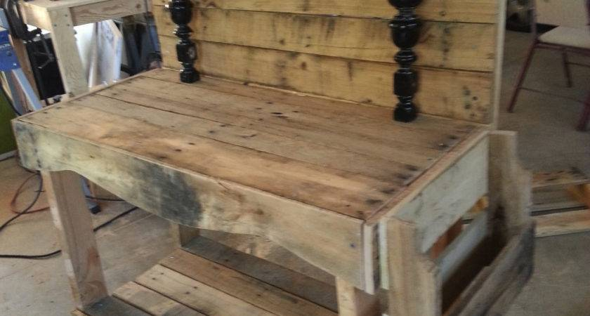 Pallet Workbench Instructions