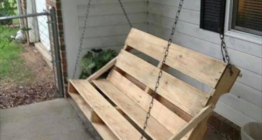Pallet Yard Swing Ideas Your Backyard Pallets Designs